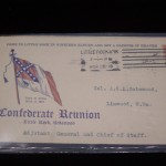 Little Rock, Arkansas CSA Reunion Envelope