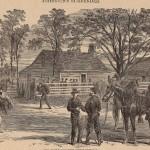 General Johnson's Surrender at James Bennett House  April 1865