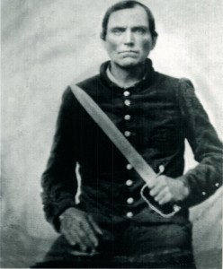 Private 8th GA / Father of Private Andrew Jackson Moss