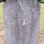 Grave of Gilbert Moss, 8th GA