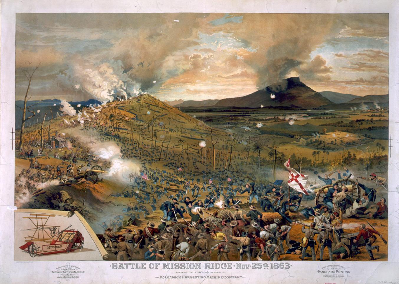 The Battle of Missionary Ridge